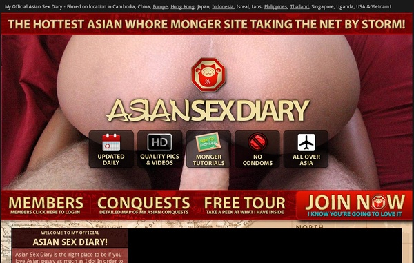 Asian Sex Diary Free Trial Pass