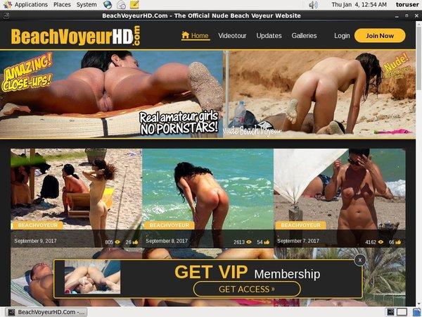 Beach Voyeur HD Free Stream