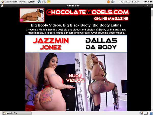 Chocolate Models Special Discount