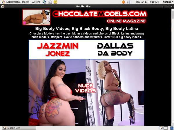 Chocolate Models Using Pay Pal