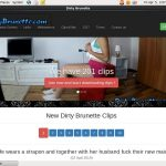 Dirtybrunette.com Sale Price
