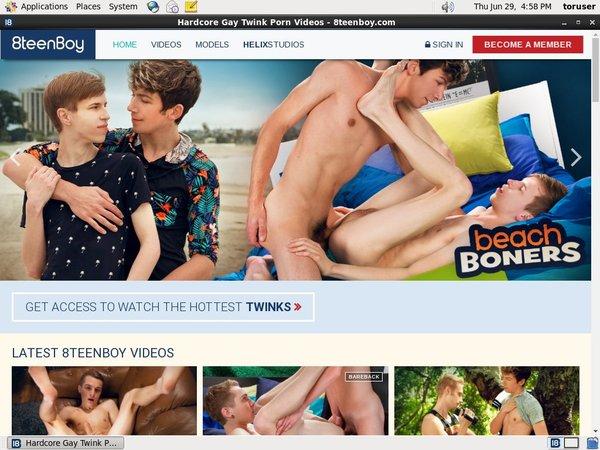Get 8teenboy.com Account