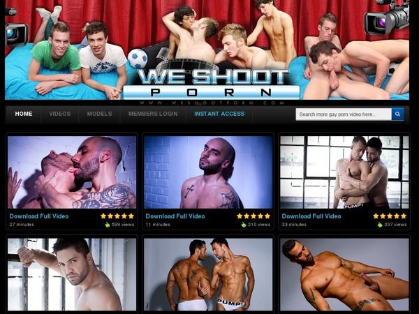Weshootporn.com Account For Free