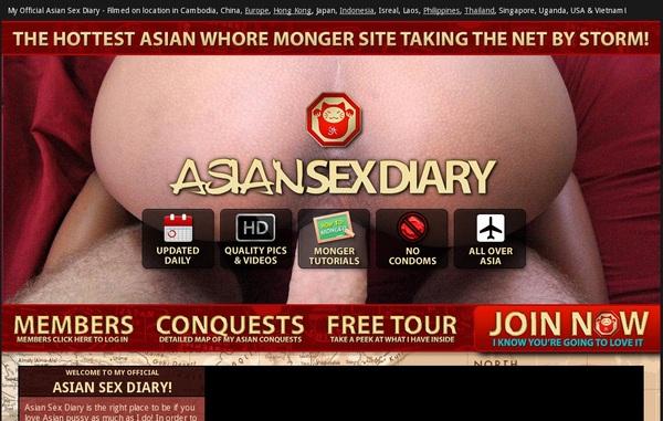 Asian Sex Diary $1 Porn Trial