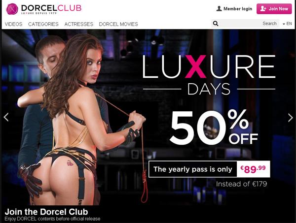 Dorcel Club Sofort Zugang