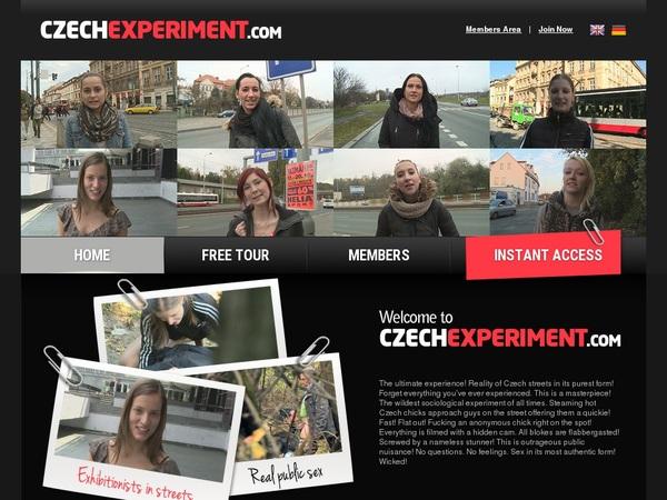 New Czech Experiment Discount Deal