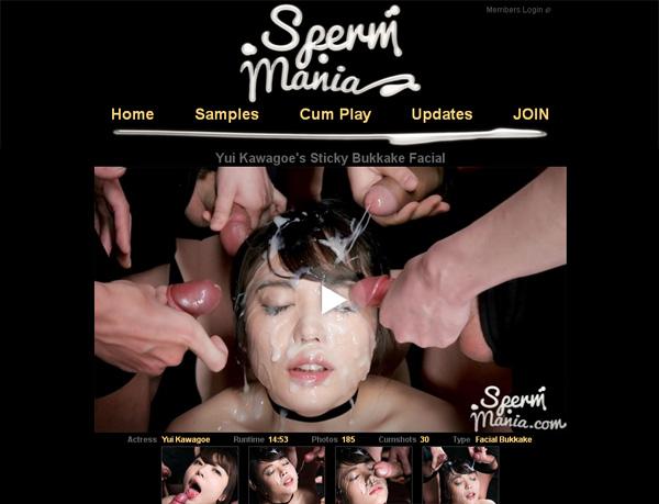 New Sperm Mania Discount Deal