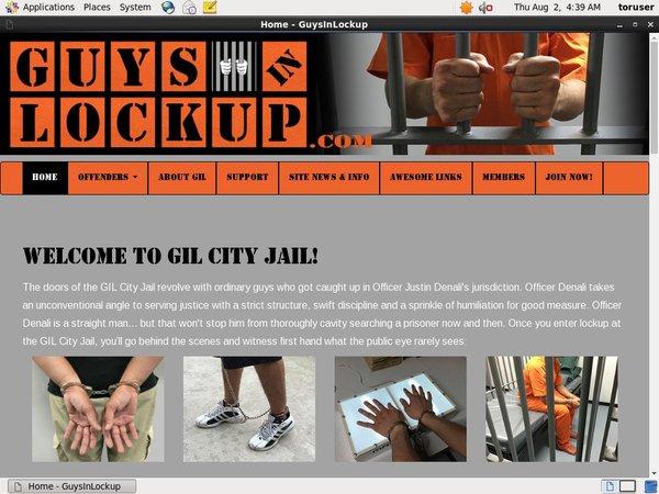 Get Guys In Lockup Trial Membership
