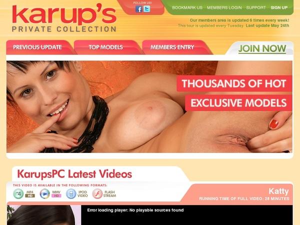 Karupspc.com Logon