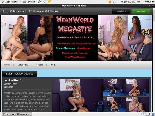 Meanworld.com Pass Free