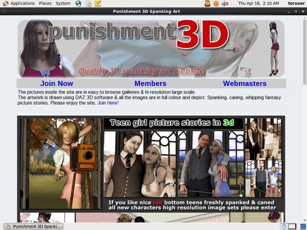Punishment3d.com Webbilling