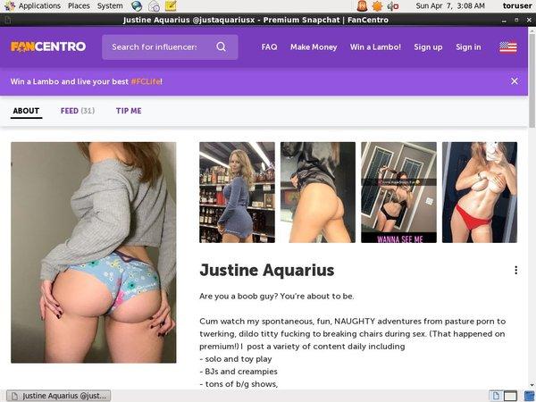 Justine Aquarius Free Access