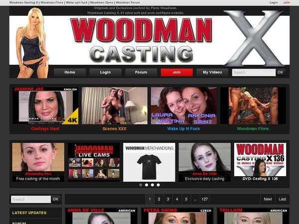 Woodmancastingx.com Trial Membership $1