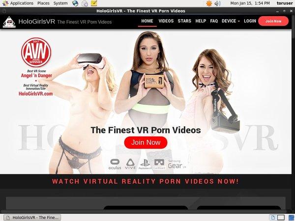 $1 Holo Girls VR Trial Membership